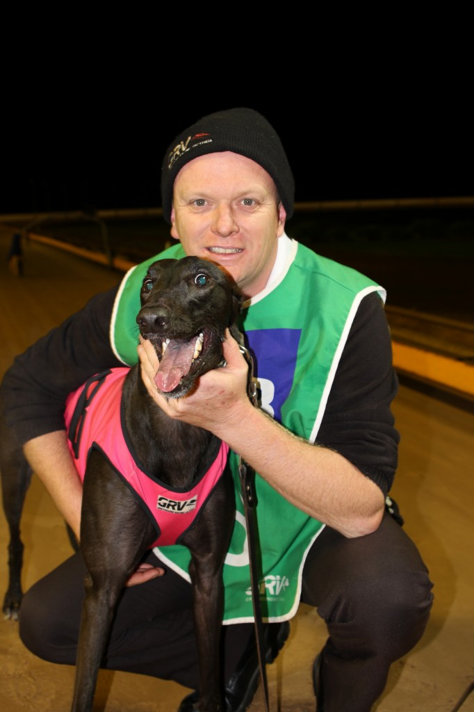 R8-Sure to Excite with trainer Graham James