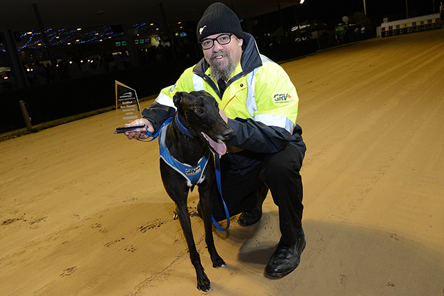 Ron Nestor Memorial winner Raw Ability with handler Kieth Anderson