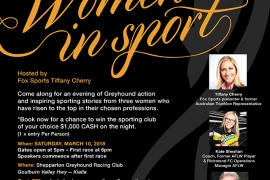 Shepparton Greyhound Racing Club Presents Women In Sport